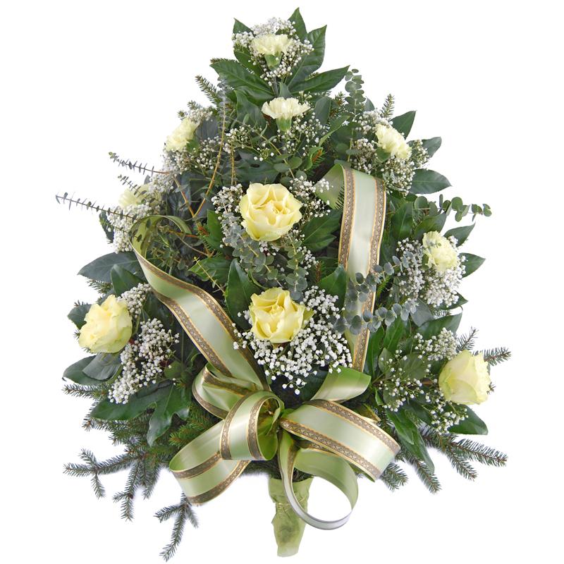 Wiązanka pogrzebowa – Dusza w niebiosach Kwiaty na pogrzeb